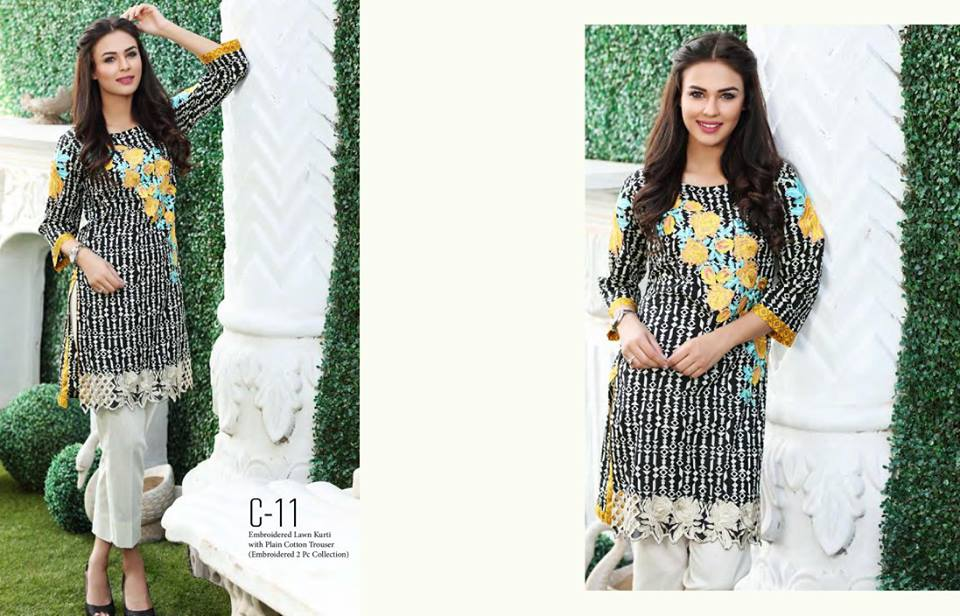 COCO Embroidered Lawn-13
