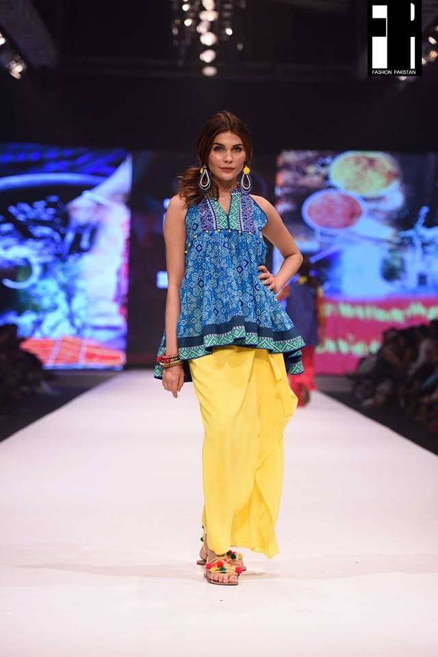 Gul ahmed collection at fashion pakistan week 2016 pk vogue Fashion style in pakistan 2013