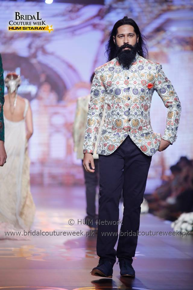 Dazling printed formal suit for men by amir adnan