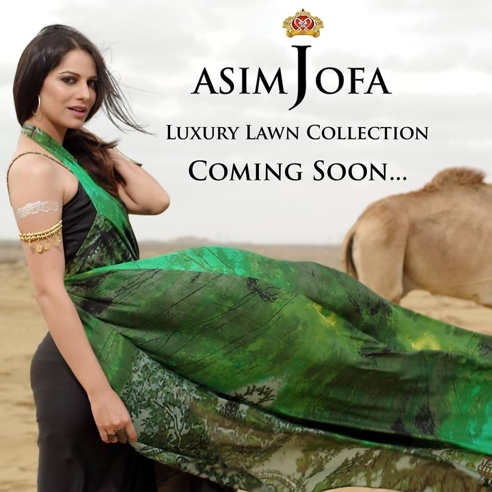 Asim Jofa Summer Lawn 2016-18