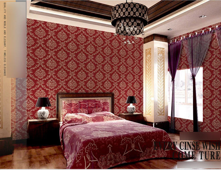 Bedroom Wallpaper Designs 9
