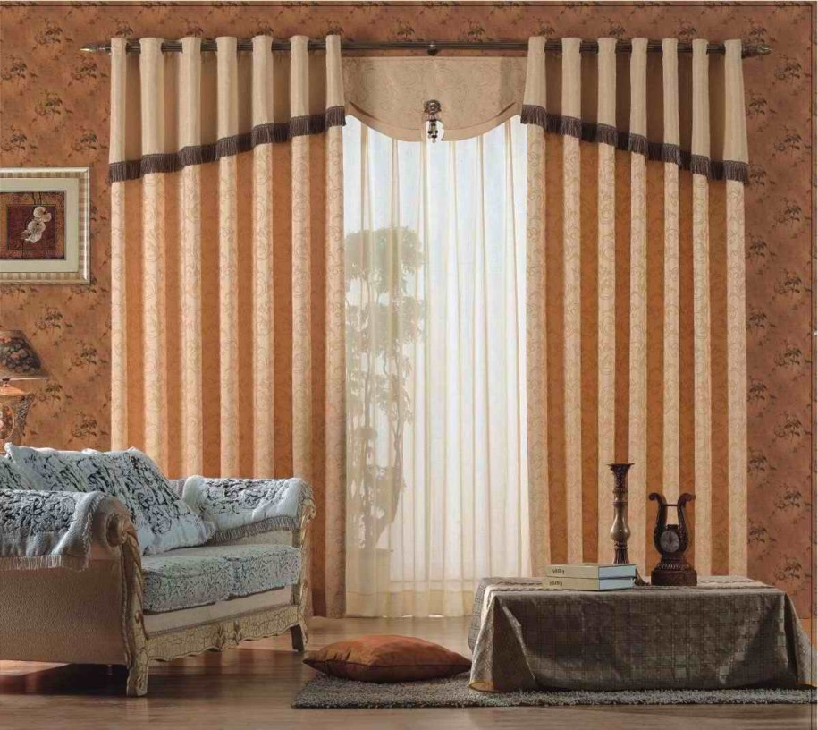 15 latest curtains designs home design ideas pk vogue. Black Bedroom Furniture Sets. Home Design Ideas