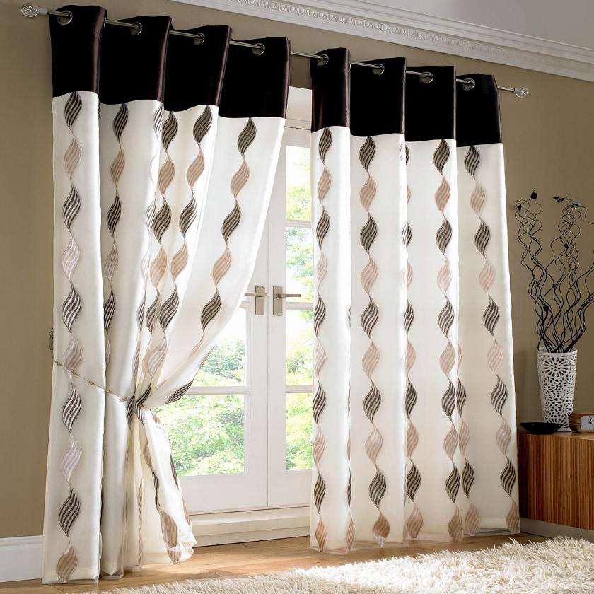 15 latest curtains designs home design ideas pk vogue for Curtain design for living room
