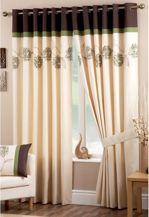 15 latest curtains designs home design ideas pk vogue - Latest interior curtain design ...
