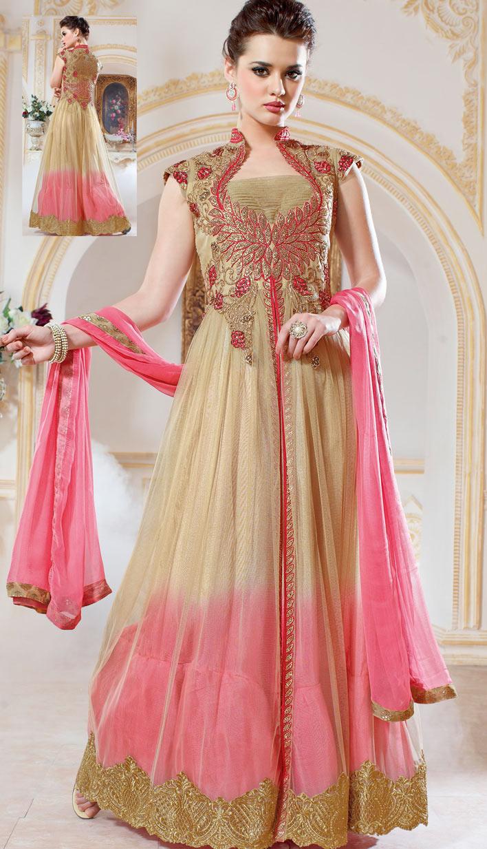 Anarkali Frocks Design 2016 | Gorgeous Party Wear Frocks ...