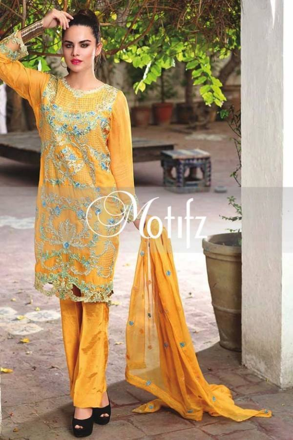 Motifz Embroidered Crinkle Chiffon-Eid-Collection-13