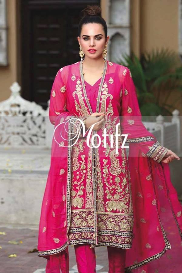 Motifz Embroidered Crinkle Chiffon-Eid-Collection-15