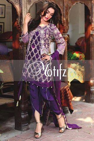 Motifz Embroidered Crinkle Chiffon-Eid-Collection-16