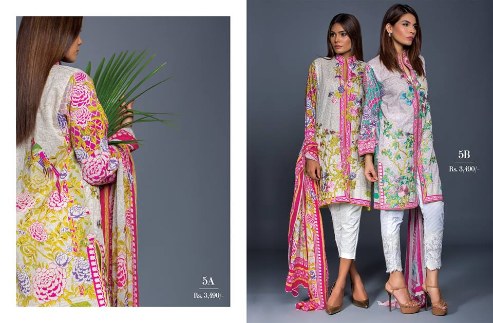 Muzlin Embroidered Unstitched Collection - Vol 2-14