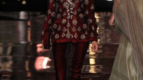 Manish malhotra latest bridal collection at india couture week 2016