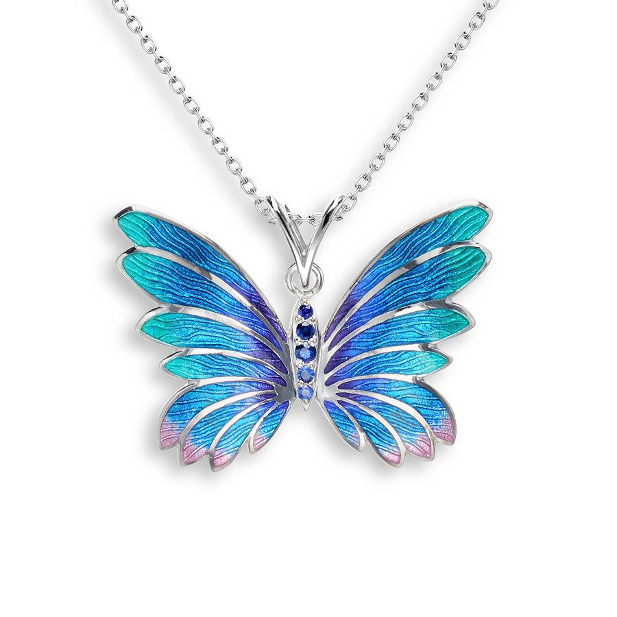 gold-Necklaces-designs-butterfly-neckalace-8