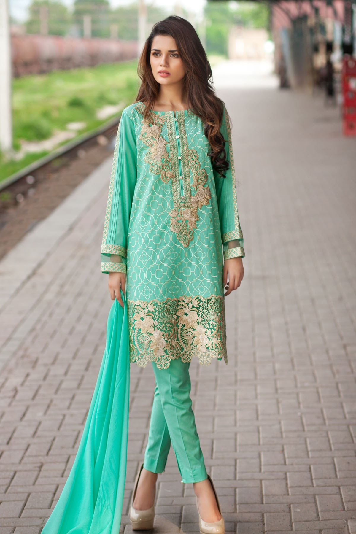 7aa82395d3 Mausummery Latest Embroidered Summer Collection 2016 - PK Vogue