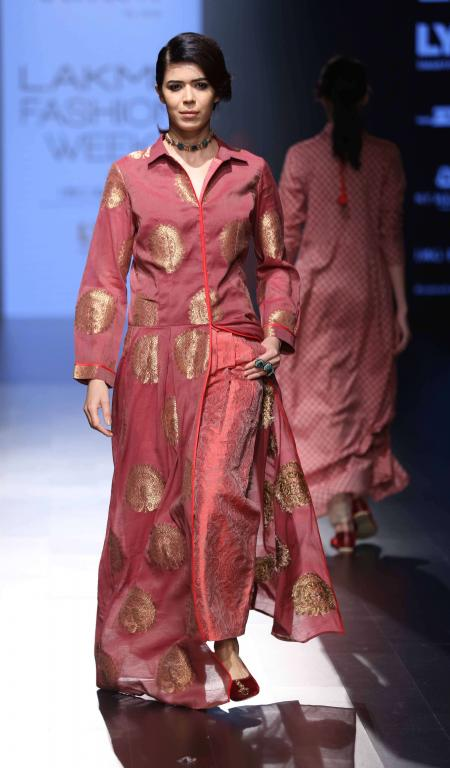 Anushree Reddy - Amoh by JADE-  SVA by Sonam & Paras Modi-at-lakme-fashion-week-174
