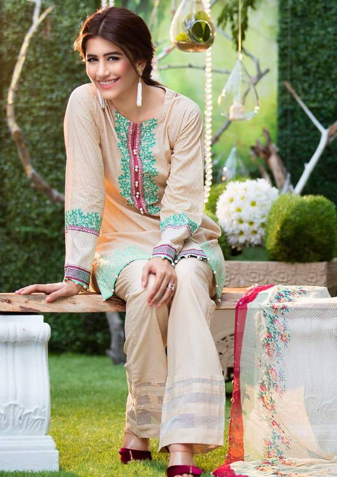 Chiffon Embroidery Collection by Alkaram-7