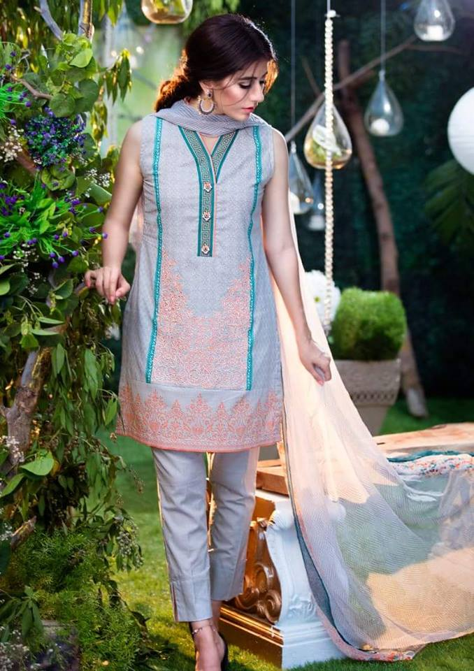 Chiffon Embroidery Collection by Alkaram-9