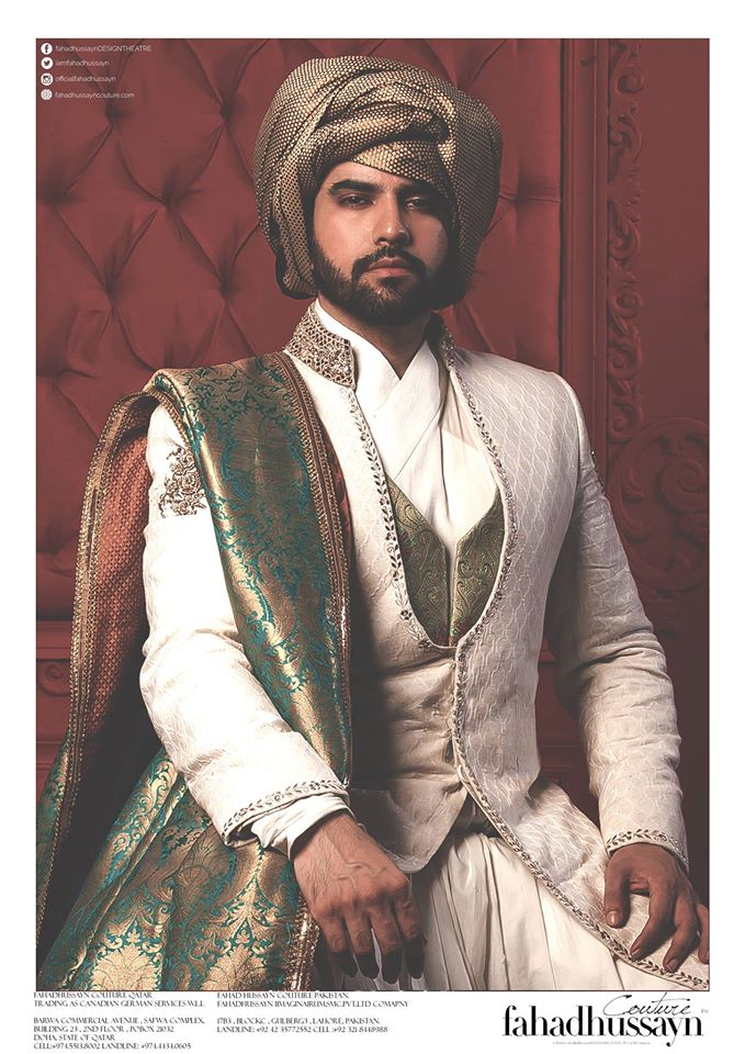 Fahad Hussayn-groom-dress-2