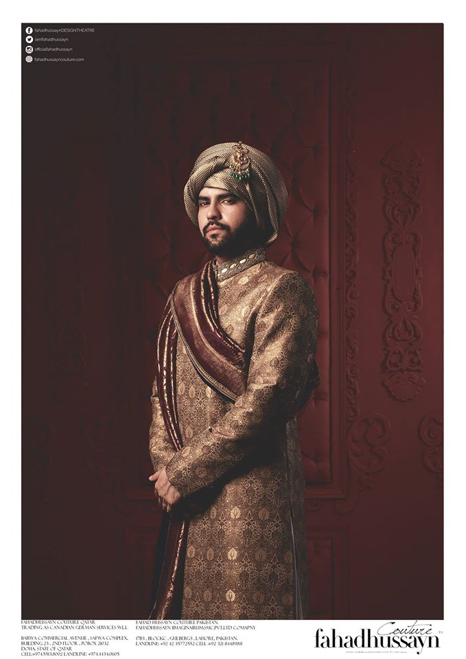 Fahad Hussayn-groom-dress-6