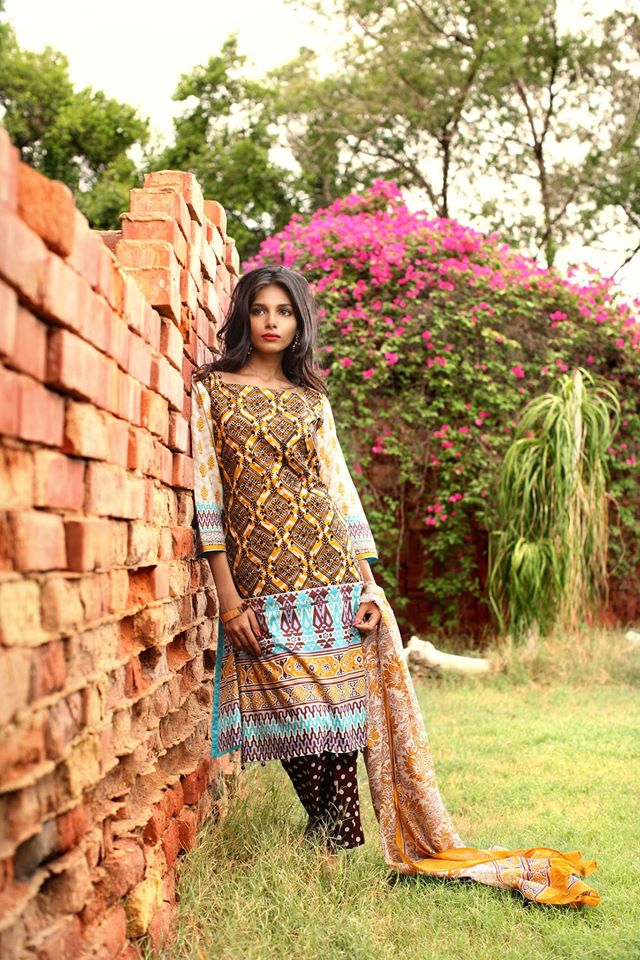 Feminine Designer Embroidered lawn-23