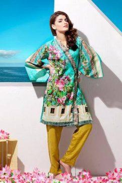 Gul Ahmed Kurti Designs-2