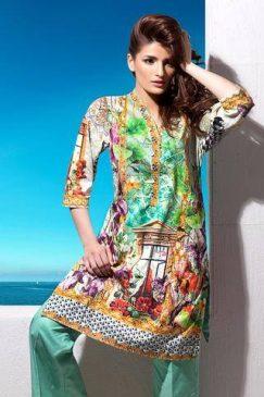 Gul Ahmed Kurti Designs-6