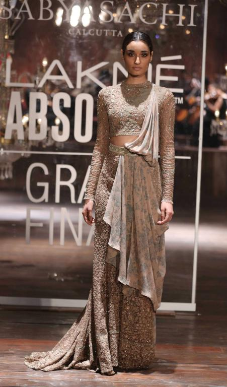 Absolute Grand Finale By Sabyasachi At Lakme Fashion Week