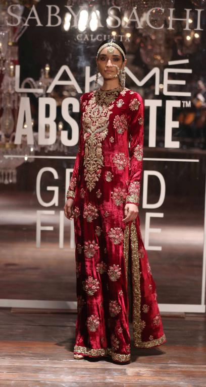 Lakme Absolute Grand Finale By Sabyasachi-at-lakme-fashion-week-25