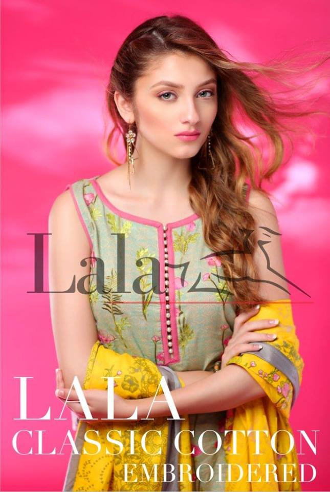 0ef866d492 Classic Cotton Embroidered Collection By Lala | Latest Pakistani Designer  Dresses