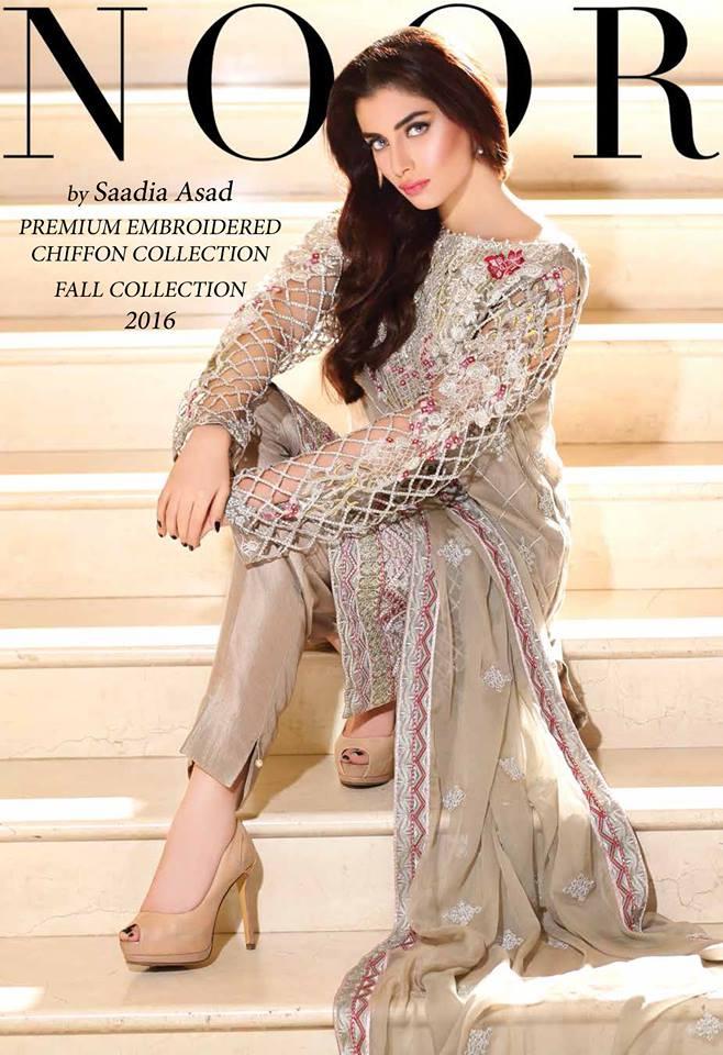 Saadia Asad Premium Chiffon Collection-