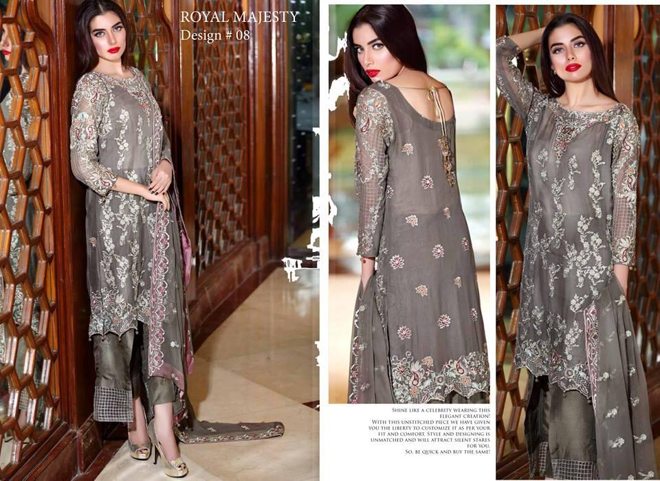 Saadia Asad Premium Chiffon Collection-9