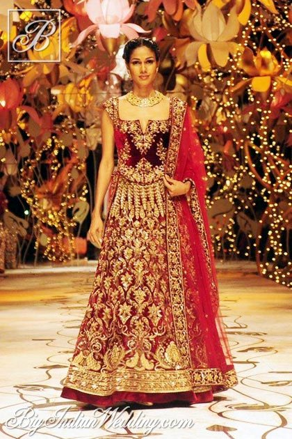 Wedding Lehenga Designs 14