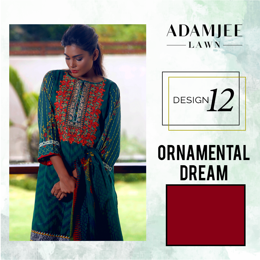 Adamjee-Festive Mid - Summer-Collection-lawn-11