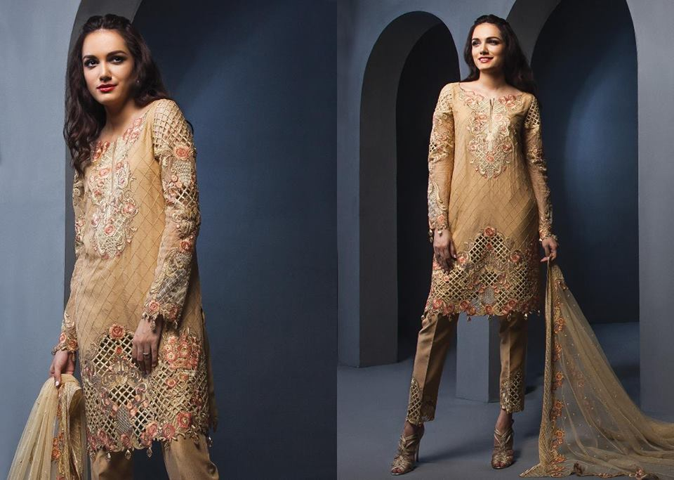 Anaya By Kiran Chaudhry Chiffon Collection-11