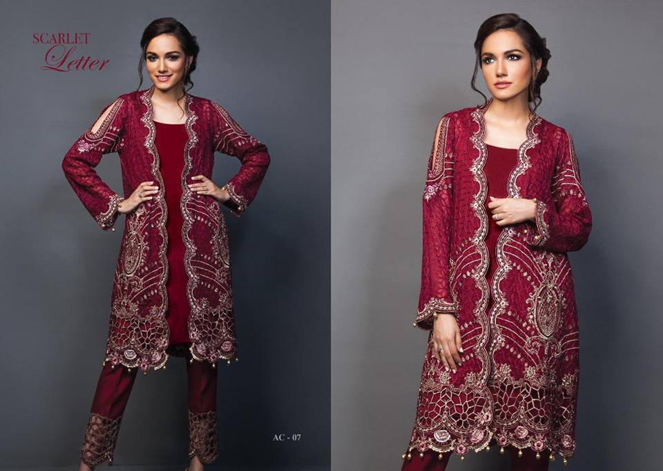Anaya By Kiran Chaudhry Chiffon Collection-12