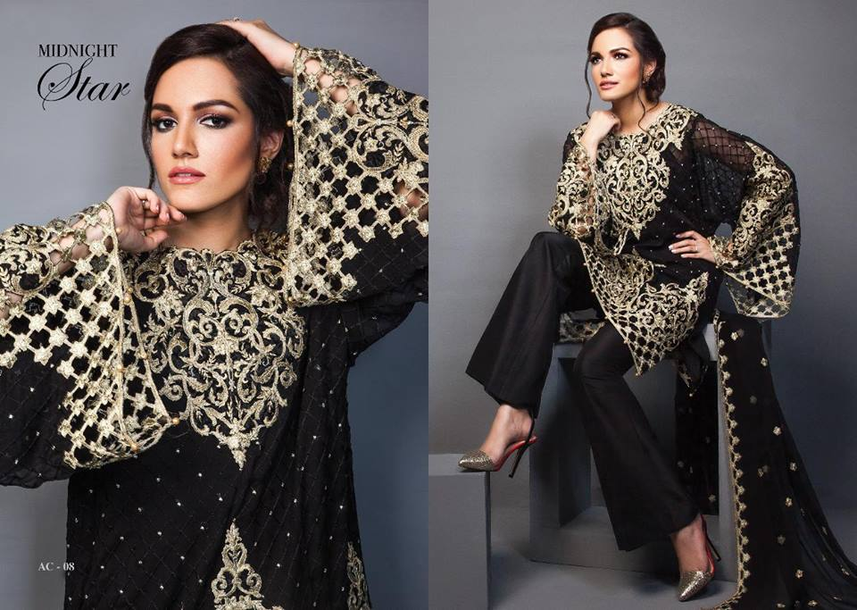 Anaya By Kiran Chaudhry Chiffon Collection-13