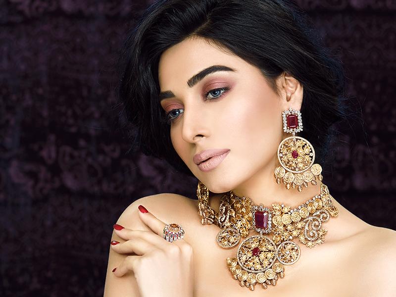 Elegant Bridal Jewelry Of Pakistan Latest Bridal Jewelry Set
