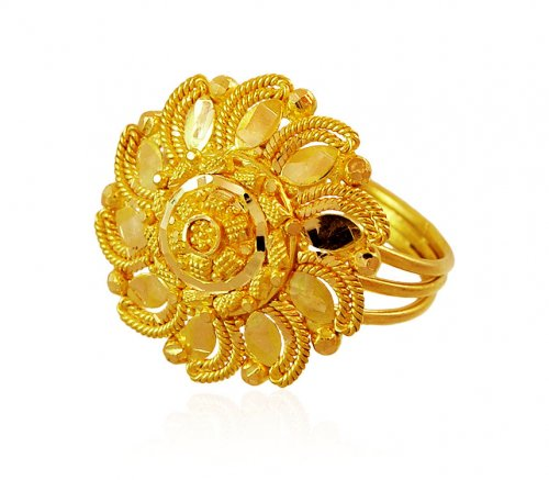15 Awesome Designs Of Indian Gold Rings 2016