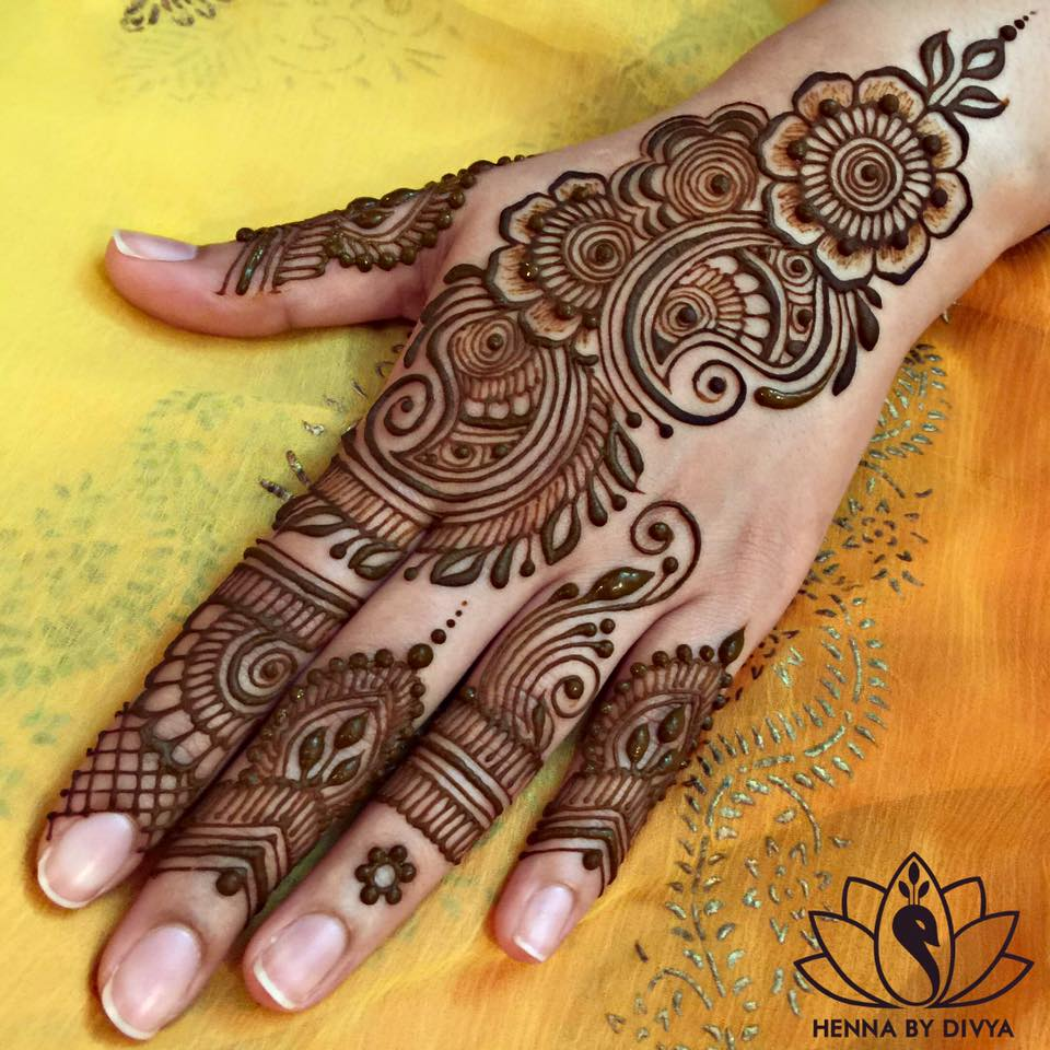 Mehndi Patterns Pics : Beautiful and easy mehndi designs for eid celebration pk