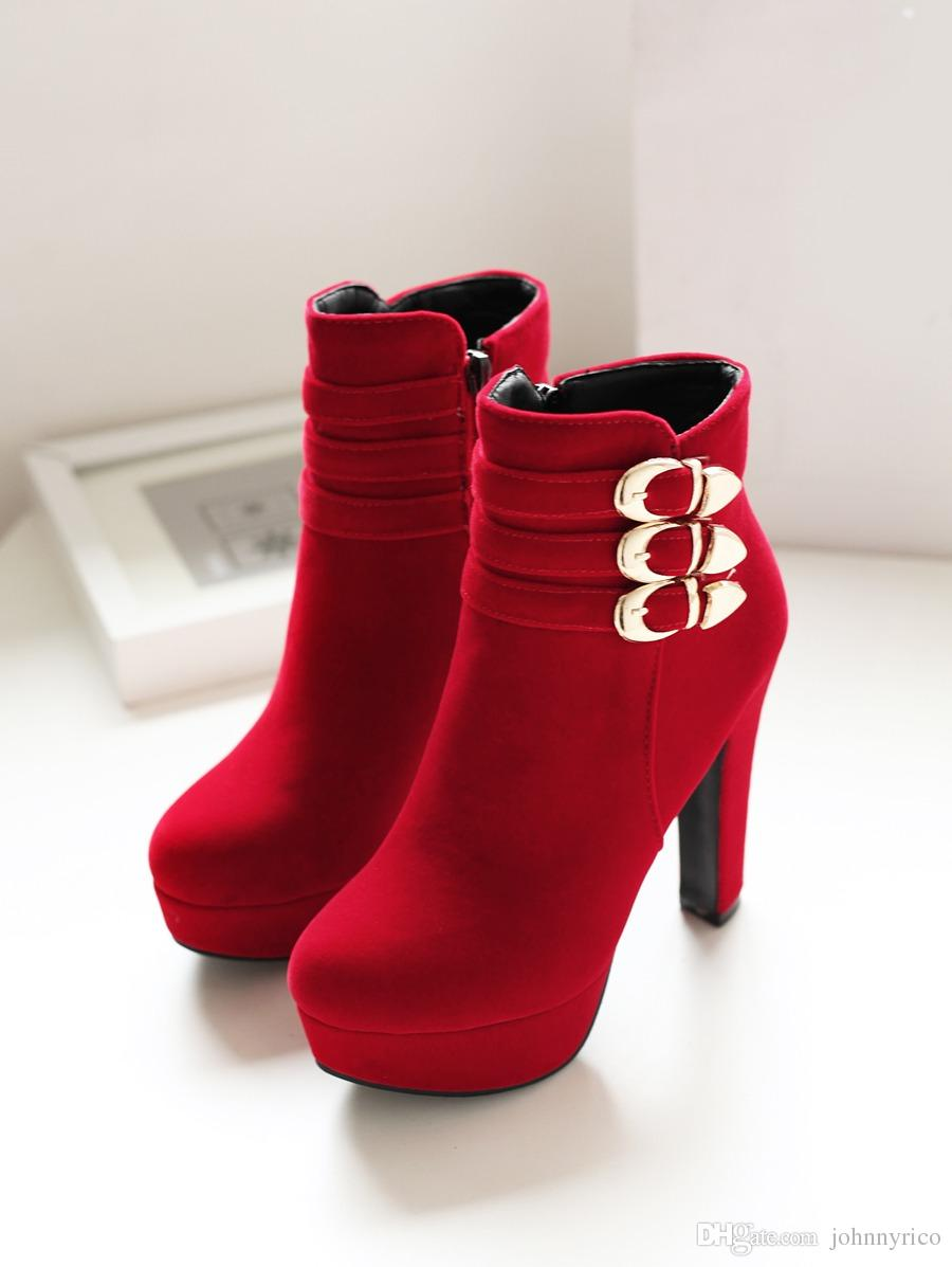 Women-wedding-shoes-red-color-16
