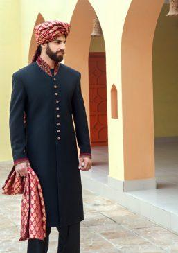 Simple Elegant Mens Wedding Sherwani Collection By Amir