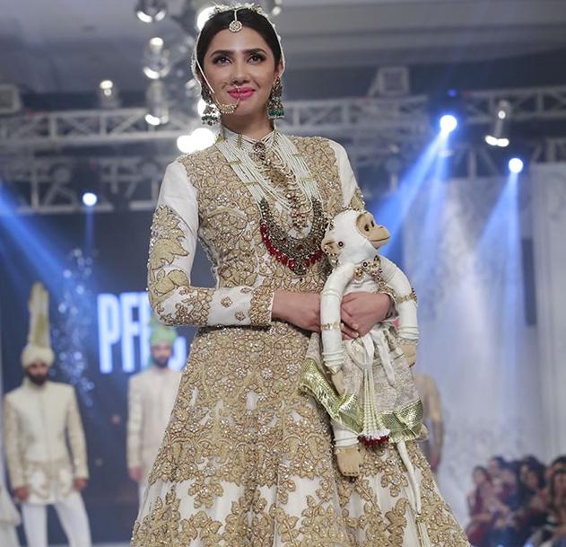 Ali Xeeshan Bridal Collection At L Oreal Bridal Week 2017