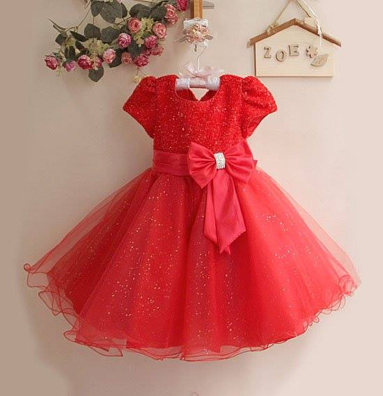 8cacc8285a3 New Fancy Frocks For Baby Girls | Party Wear Baby Frocks 2017 - PK Vogue