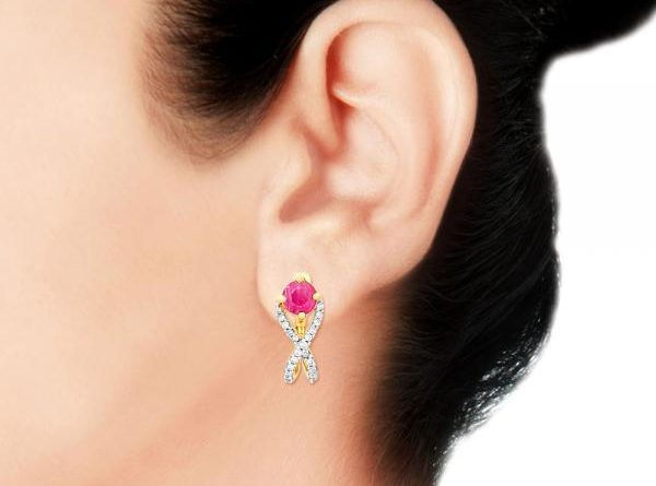Magnificent Diamond Earring By Gili Indian Jewelry Pk Vogue