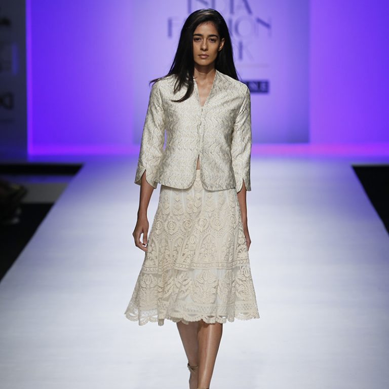 kavita-bhartia-at-amazon-india-fashion-week-2007