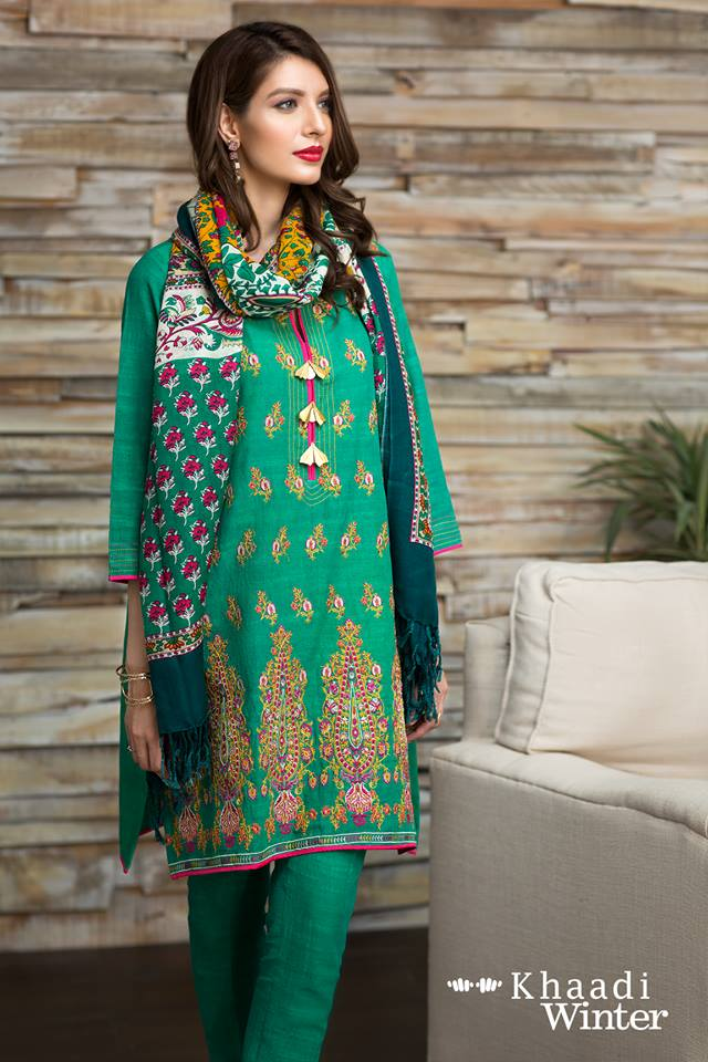 khaadi-winter-collection-with-shawl-7