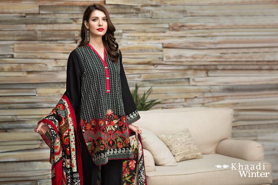 khaadi-winter-collection-with-shawl-9