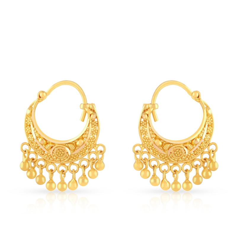 malabar-indian-gold-jewelry-designs-earring-designs | PK Vogue