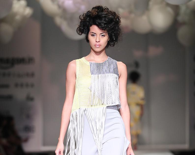 Pankaj Nidhi Latest Collection At Amazon India Fashion Week Spring Summer 2017 Pk Vogue