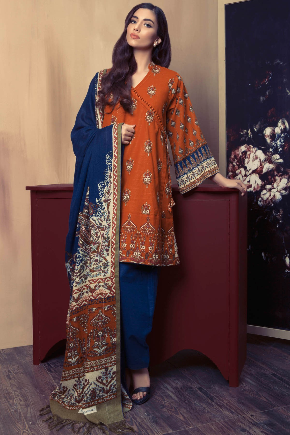 Alkaram Textile Pashmina Woolen Shawl Collection For Fall