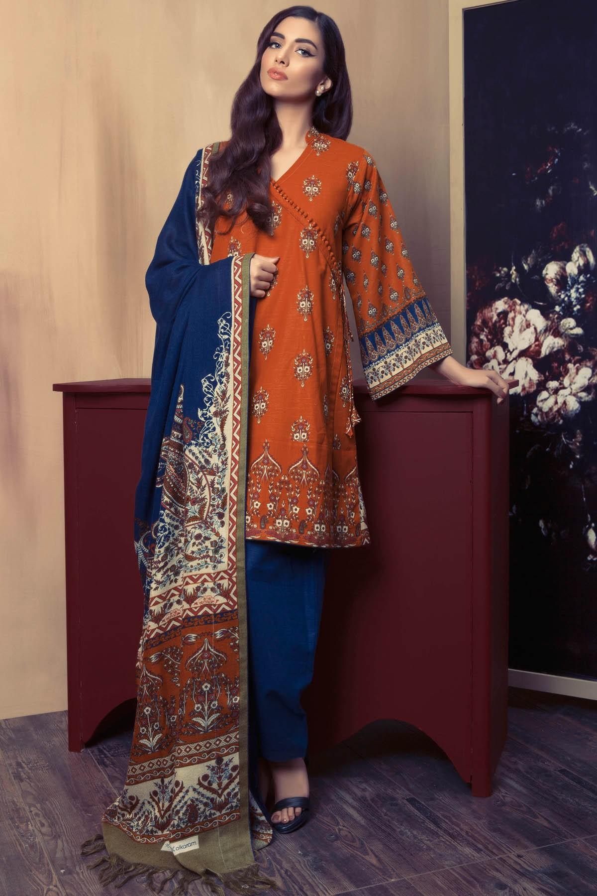 824bfde613a9a Alkaram Textile Pashmina Woolen Shawl Collection For Fall/Winter 2017