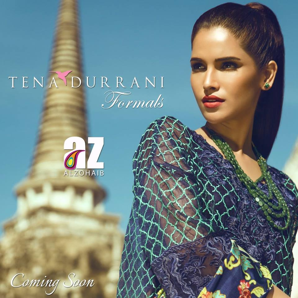 5fd842cdfc Tena Durrani Luxury Formal Wear Collection For Winter 2016-17 ...